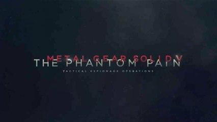 Trailer TGS 2014 de Metal Gear Solid V : The Phantom Pain