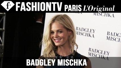 Badgley Mischka Spring 2015 Backstage ft Erin Heatherton | New York Fashion Week NYFW | FashionTV