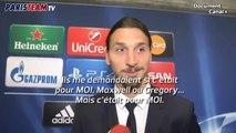 Ajax-PSG : la banderole pour Zlatan