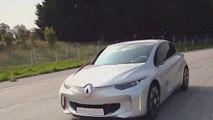 Le concept ultra-basse consommation Renault Eolab affiche une valeur de 1l/100 km