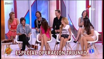"""Vicente Seguí en TconT """"Especial Operación Triunfo"""""""