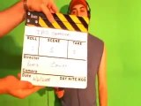 GREEN SCREEN clip during the shooting of the IPOD commercial directed by RENNIE COWAN.