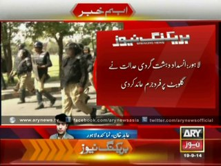 ATC Files Terrorism Charges Against Gullu Butt