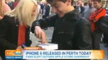 Il fait tomber l'iPhone 6 qu'il vient tout juste d'acheter