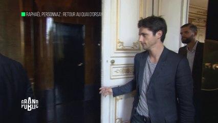 Raphaël Personnaz : retour au Quai d'Orsay
