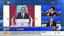 Conférence de Presse de François Hollande: Les décryptages de Thierry Arnaud, Ruth Elkrief, Laurent Neumann et Bernard Sananès - 18/09 2/6