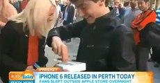 Un australien laisse tomber son iPhone 6 tout neuf