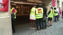 Grève surprise des femmes de chambre à l'hôtel de luxe Hyatt