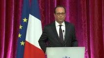 François Hollande évoque les frappes contre l'Etat islamique