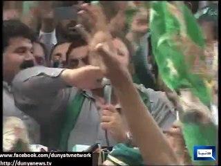 PMLN's Former KPK President Pir Sabir Shah Started Chanting Go Nawaz Go Instead Of Go Imran Go