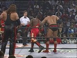 Outsiders (Kevin Nash & Scott Hall) vs Harlem Heat (Booker T & Stevie Ray) - WCW Halloween Havoc 1996