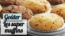 Les muffins fondants aux pépites de chocolat - Recette facile