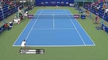 Guangzhou Women's Open: Alize Cornet bt Timea Bacsinszky (6-1 7-6)