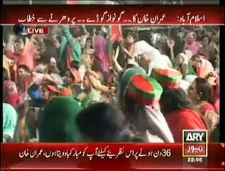Nawaz Sharif What Will Happen At Public Gatherings If You Dont Resign:- Imran Khan