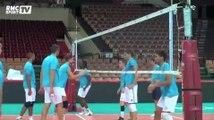 Volley / Les Bleus préparent leur demi-finale face au Brésil - 19/09