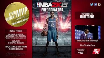 NBA2K15 FaceScan Trailer ITA