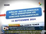 Ministry of Communication denounces smearing war against Venezuela