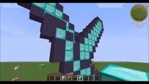 tuto : faire des épées en pixel art minecraft.