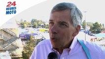 24 heures moto 2014: interview de Claude Michy, organisateur du GP de France moto
