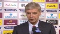 Aston Villa 0-3 Arsenal - Arsene praises Ozil's performance - Arsene Wenger - interview
