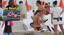 Kourtney Kardashian & Super Hot Model Making Out With Old Man On The Beach - Top 3