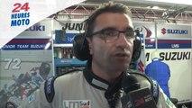 24 Heures moto 2014: Interview de Damien SAULNIER, Team Manager Junior Team LMS Suzuki