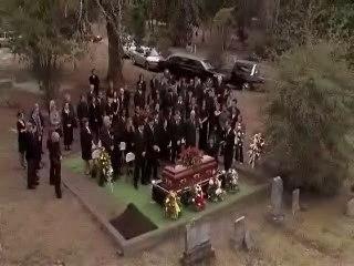 Enterrement de Keith