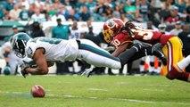Matthews, Maclin Lead Eagles Over Redskins 37-34