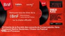 Orchestre de la Société des concerts du Conservatoire, Hans Rosbaud, Nadine Sautereau, C - Platée