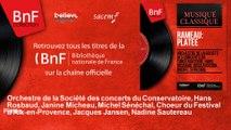 Orchestre de la Société des concerts du Conservatoire, Hans Rosbaud, Janine Micheau, Mic - Platée