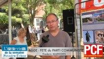 AGDE - 2014 - FETE du PARTI COMMUNISTE AGDE - Frederic MARKIDES par Didier DENESTEBE