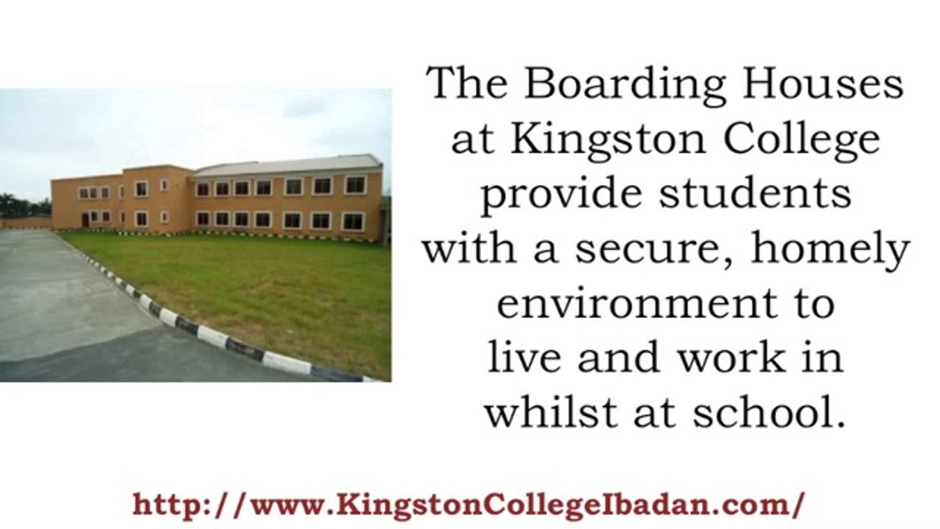 Kingston College Nigeria - Good secondary school with boarding in Nigeria