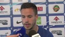 Avant AC Ajaccio - HAC, interview de Florian Pinteaux