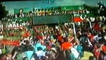 Pakistan Tehreek-e-Insaf kay karkun ka josh khrosh Karachi Jalsa main samma news se goftogo 21-9-2014