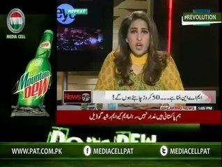 Meher Abbasi Slaps Politicians On Their Face Live