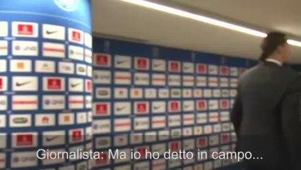 Psg, Ibrahimovic risponde stizzito a un giornalista e se ne va...