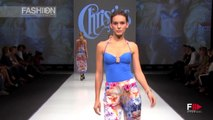 """CHRISTIES"" Spring Summer 2015 Blue Fashion Beach Moscow by Fashion Channel"