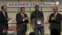 Tony Parker honoré par l'Académie des Sports