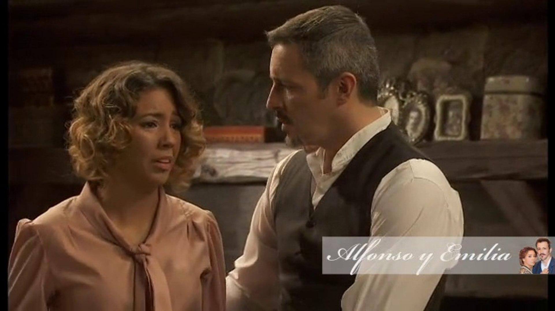 Alfonso y Emilia 612. Los familiares de Alfonsito llegan al pueblo.