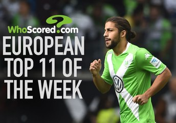 European Team of the Week - September 22