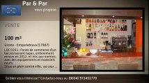LOC 0261- Fonds de commerce bar-restaurant tapas pres des commerces et de la plage.