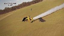 ZAP Extreme N°59 - Enorme saut en FMX au dessus d'un avion Bi-plan
