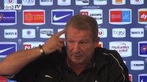 """Football / Courbis : """"Tout faire pour que le match soit compliqué pour Monaco"""" 23/09"""