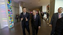 "David Cameron: ""Queen purred"" over Scottish vote"
