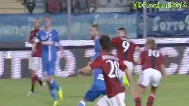Fernando Torres First Goal - Empoli vs AC Milan 2-1  Serie A  2014 HD