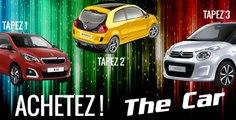 #Match des citadines françaises : Twingo III, Citroën C1, Peugeot 108