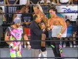 Chris Benoit, Arn Anderson and Steve McMichael vs Lex Luger, Sting and Randy Savage - WCW Nitro 1996/07/22