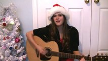 Me singing _Santa Baby_