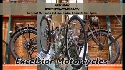 Excelsior Motorcycles : GELOMAN