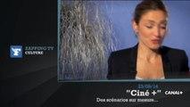 """Zapping TV : Julie Gayet : """"J'ai reçu des scénarios d'agent secret et de femme flic"""""""